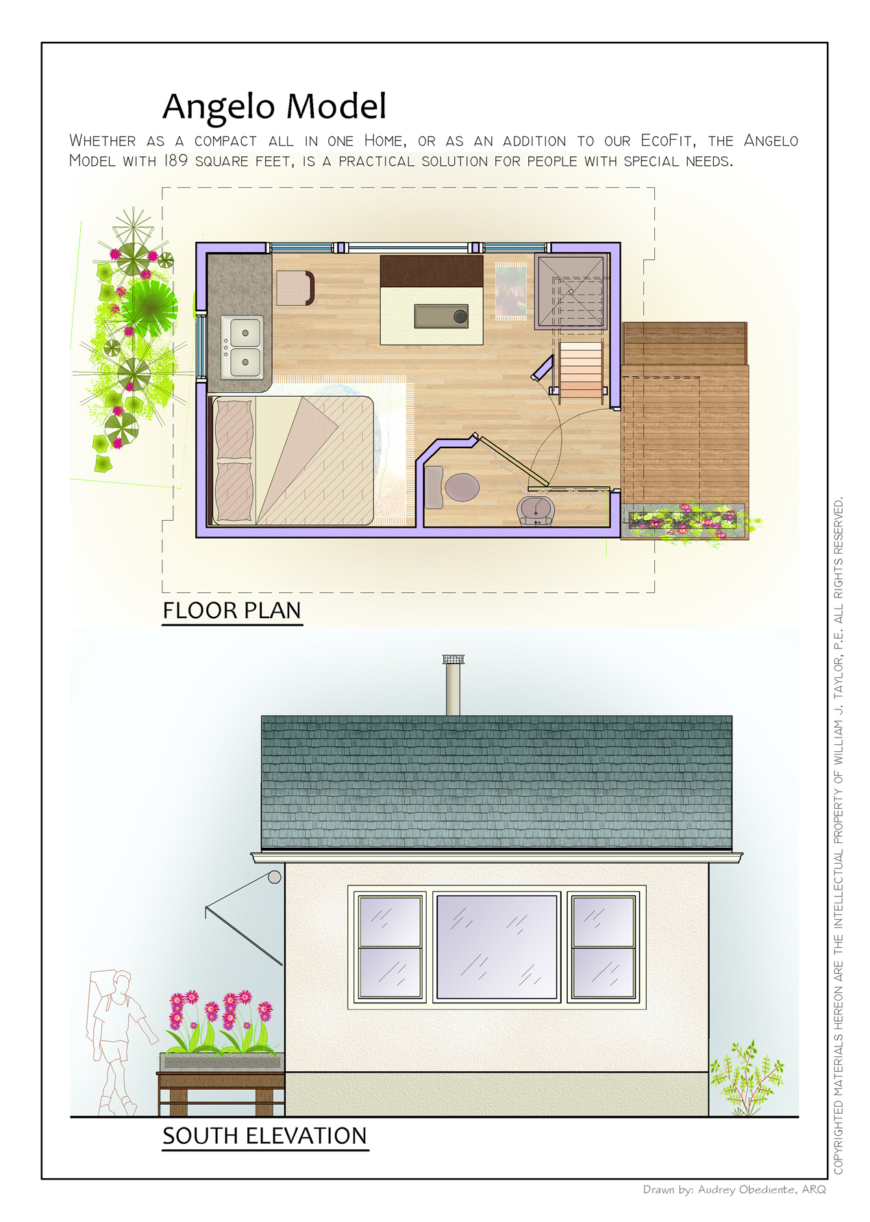 The Angelo Affordable Open Plan Small Footprint