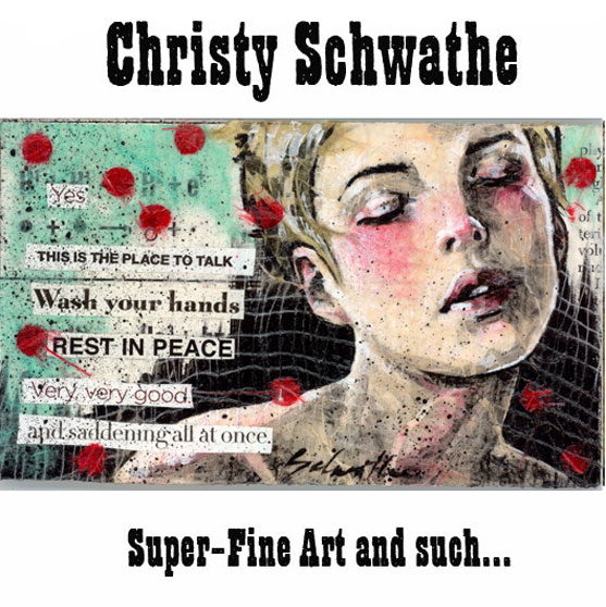 christy schwathe artiste