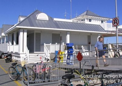 Architectural Structural Engineering of Sea Girt Pavilion