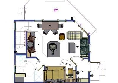 Floor Plan 600 SF