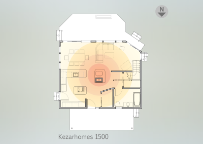 1st floor plan (heat source)