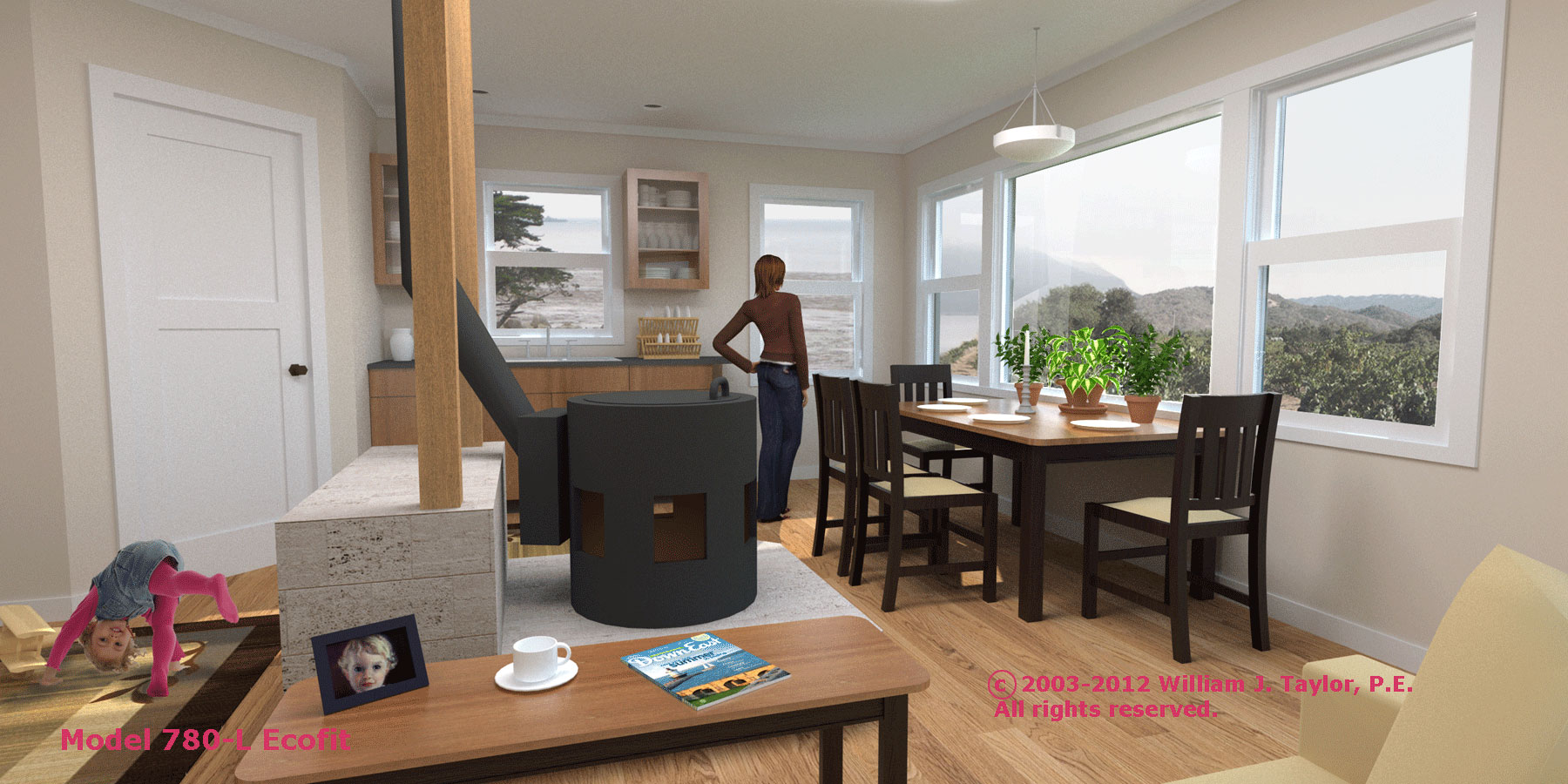 Solar House Plans And Prefabricated Home Kits Are Available Kezarhomes Ecofit Interior Natural Light